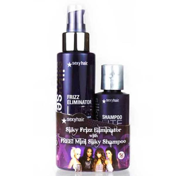Silky Sexy Hair Frizz Eliminator and Shampoo Gift Set