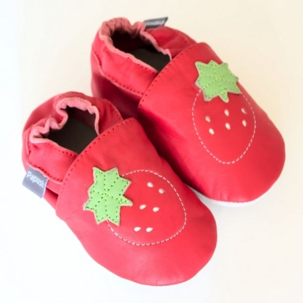 Papush Girl's Strawberry Shoes