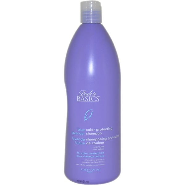 Back to Basics Blue Lavender Color-Protecting 33.8-ounce Shampoo