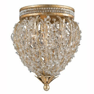 Triarch International Gold/ Silver 3-light Fixture