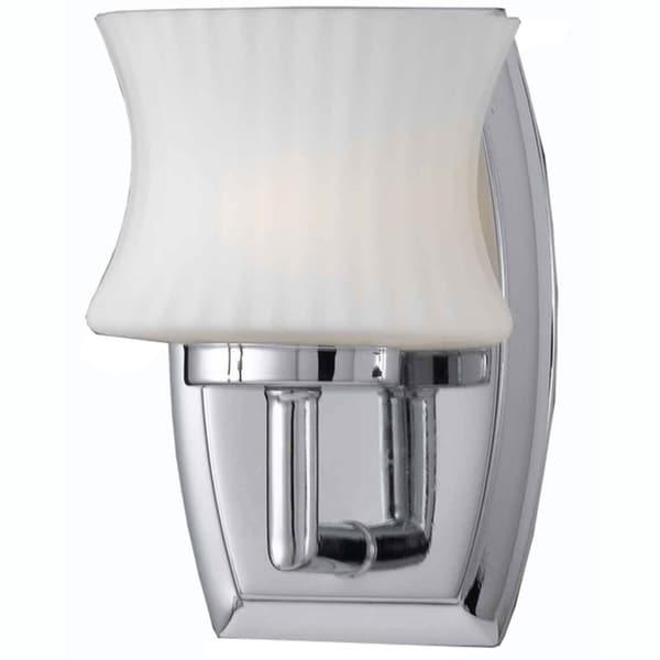 Triarch International Chrome 1-light Vanity Sconce