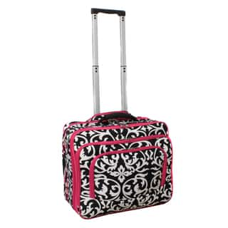 6c88711b98b ... 18-inch Upright Rolling Suitcase with Retractable Mobile Work Station.  3.2 Stars. 5. Add to Wishlist 184. World Traveler Damask with Pink Rolling  Laptop ...