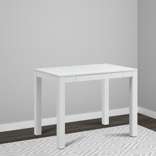 Avenue Greene Jack White Desk with Drawer
