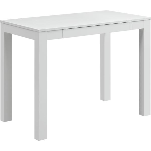 White Parsons Table Parsons Dining Tables Modern Dining Tables