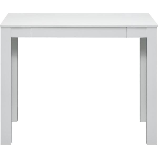 Great Single Drawer White Parsons Desk   Free Shipping Today   Overstock.com    14803736