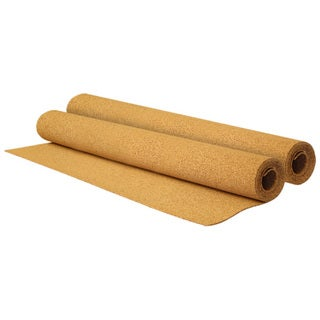 Quartet Hobby 2 x 4 Natural Cork Tile Board Roll - 2' x 4'