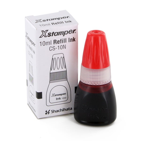Shachihata X-Stamper 10ml Refill Ink (Pack of 2)