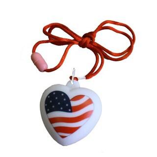 Encore Select American Light-up Bubble Heart Necklace