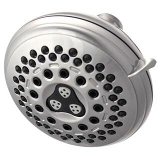 Waterpik Brushed Nickel 7 Setting Showerhead