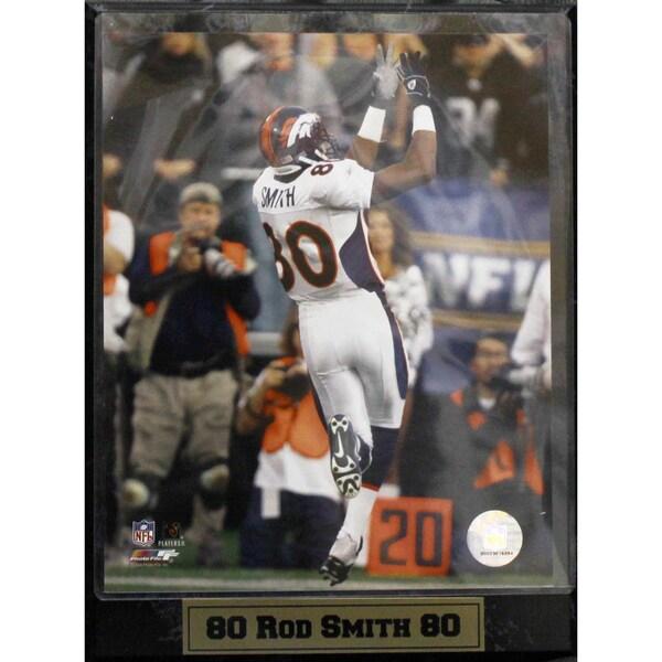 Encore Select Denver Broncos Rod Smith Photograph Plaque (9 x 12)