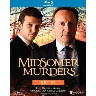 Midsomer Murders: Set 21 (Blu-ray Disc)