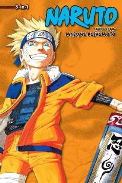 Naruto 4: 3-in-1 Edition (Paperback)