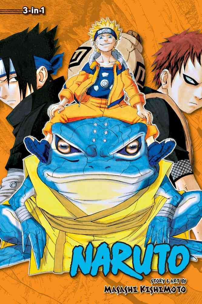 Naruto Omnibus 5: 3-in-1 Edition (Paperback)