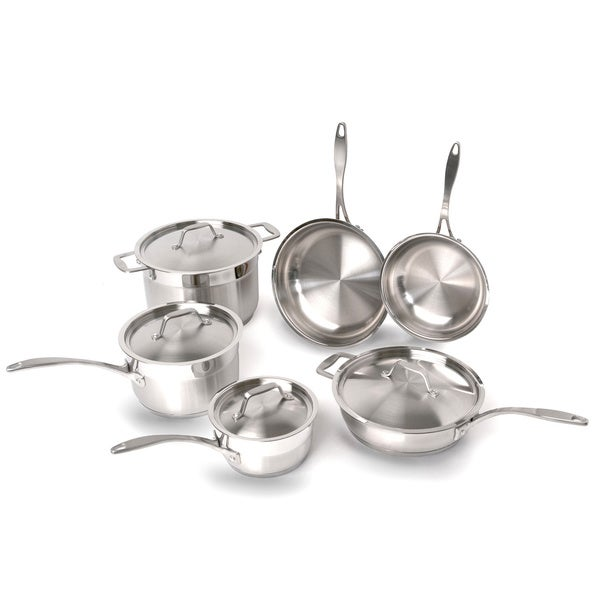 BergHOFF 'Earthchef' Professional Copper Clad 10-piece Cookware set. Opens flyout.