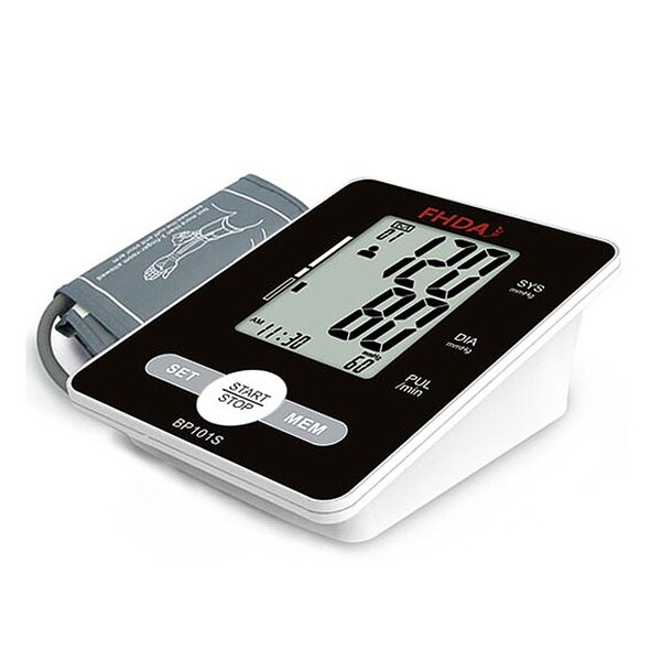 FHDA BP101S Automatic Upper Arm Blood Pressure Monitor