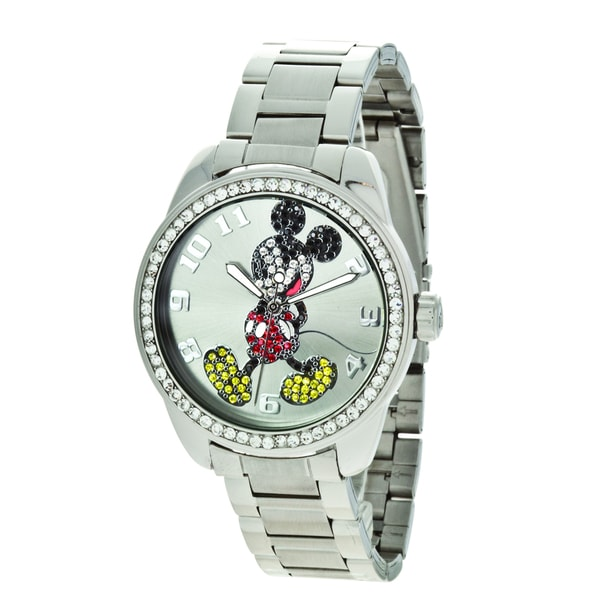 Disney Ingersoll Mickey Mouse Diamante Watch