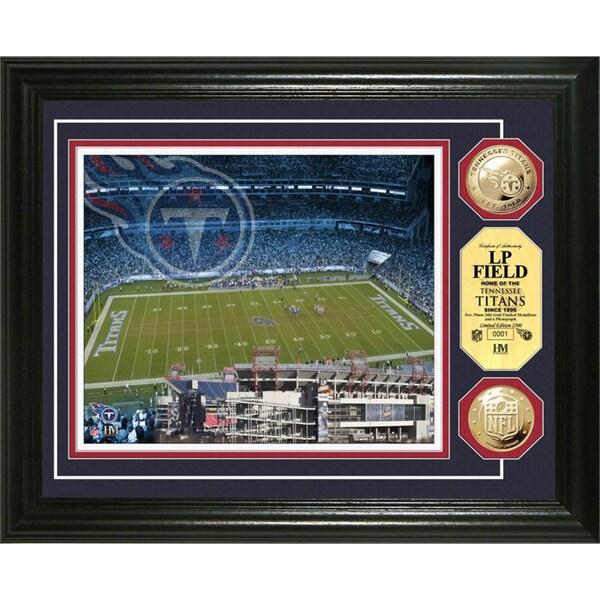 NFL Stadium Photo Mint Frame