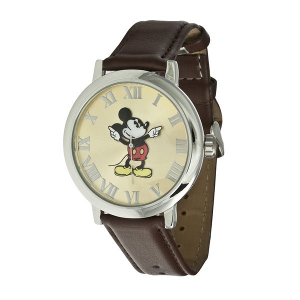 Disney Ingersoll Women's Brown Mickey Mouse Watch