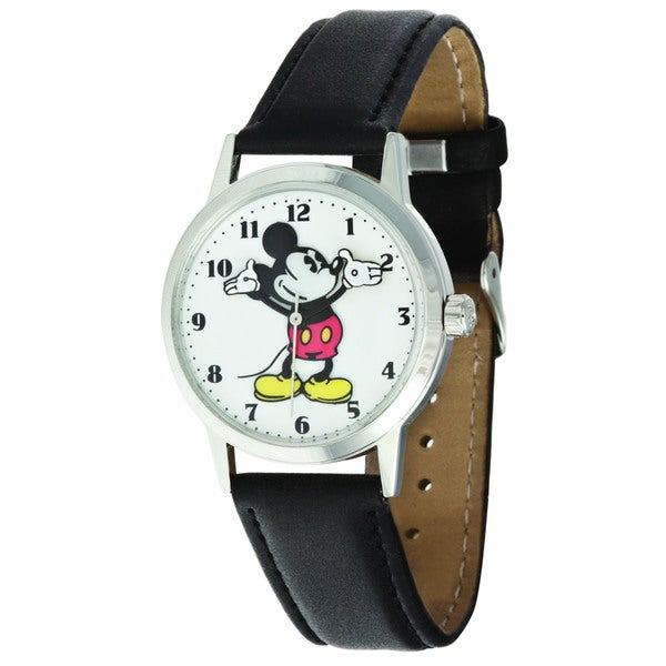 Disney Ingersoll Women's Black Mickey Mouse Watch
