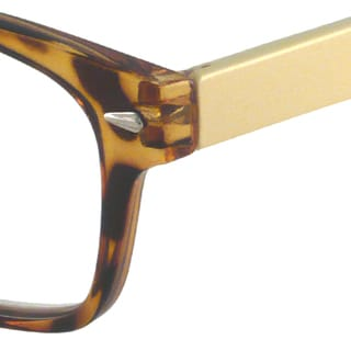 Gabriel+Simone Readers Women's Jardin Tortoise Rectangular Reading Glasses