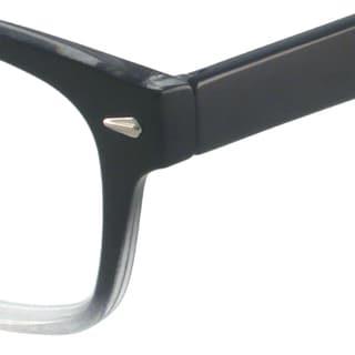 Gabriel+Simone Readers Unisex Metro Black Rectangular Reading Glasses