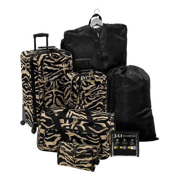 Quest Getaway ATC Escape 7-piece Luggage Set