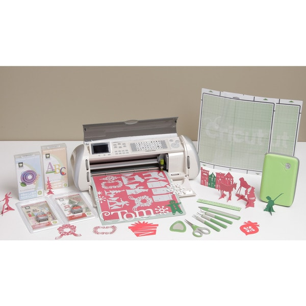 Cricut Expression Christmas Bundle w/Bonus Cartridges & Tool Kit