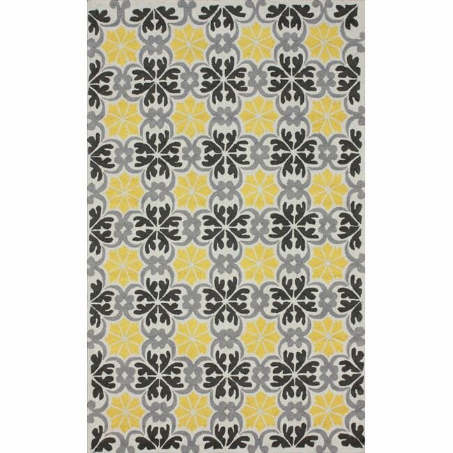 nuLOOM Handmade Spanish Tiles Trellis Rug ((7'6 x 9'6)), ...