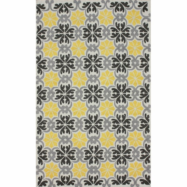 nuLOOM Handmade Spanish Tiles Trellis Rug - 5' x 8'