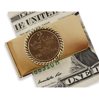 American Coin Treasures Swedish Coin ORE Crown Moneyclip