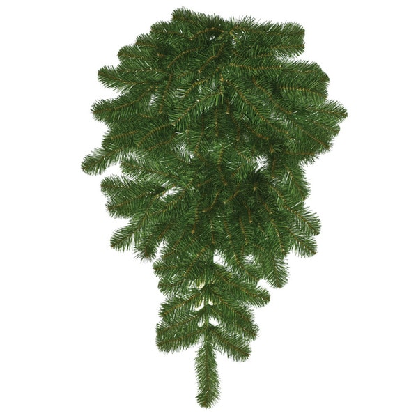 Good Tidings Nottingham Pine 32-inch Teardrop Seasonal Tree