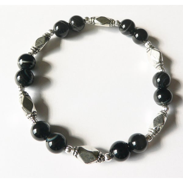 Dark of the Moon' Stretch Bracelet