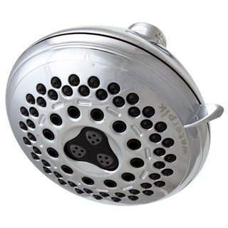 Waterpik PowerSpray Chrome Massaging 7 Setting Showerhead