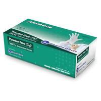 Diamond Gloves Clear Vinyl Powder-free Examination Gloves (Pack of 10)