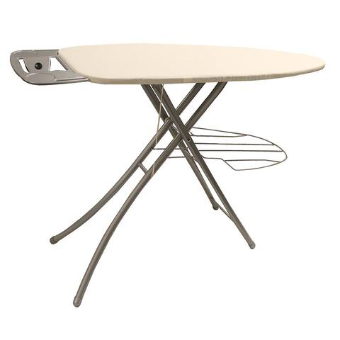 Khaki Wide Top 39-inch Ironing Board