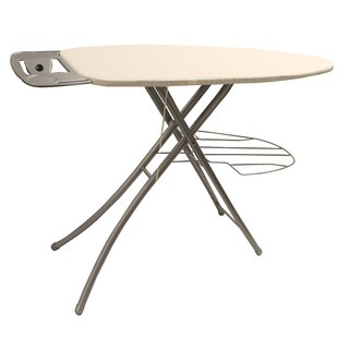 Khaki Wide Top 39-inch Ironing Board