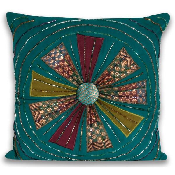 Marlo Lorenz Adriana 12-inch Decorative Pillow