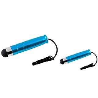 INSTEN Blue Mini Stylus for Apple iPhone 4S/ 5 (Pack of 2)