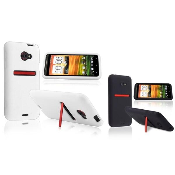 BasAcc Black Silicone Case/ White Silicone Case for HTC EVO 4G LTE