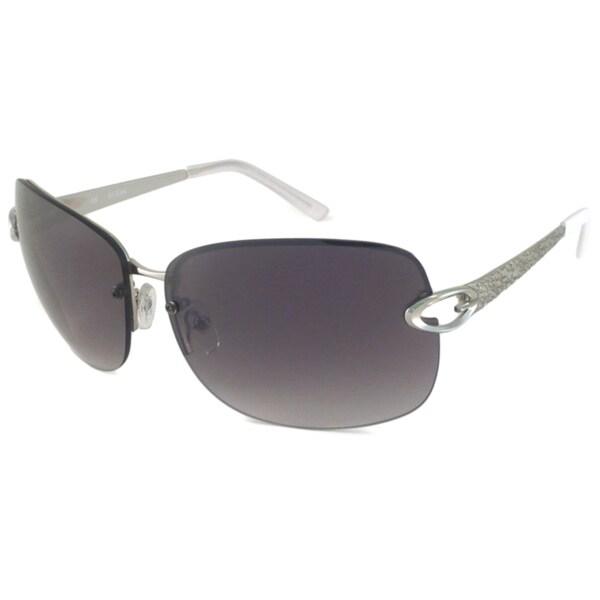 Guess Women's GU7073 Rimless Sunglasses