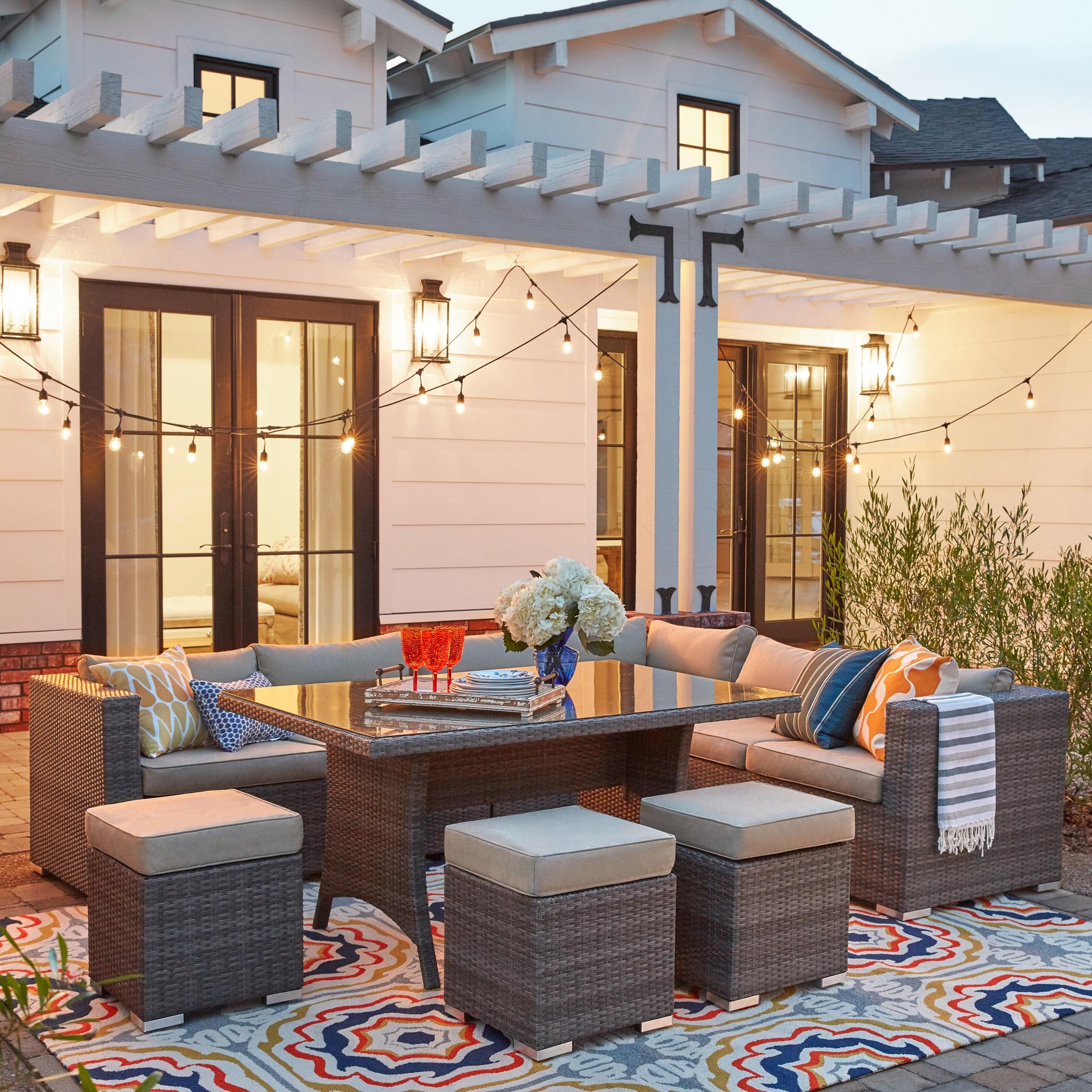 Nuloom Handmade Indoor Outdoor Spanish Tiles Multi Rug 5