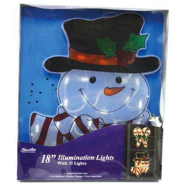Snowman Window Decoration Snowman