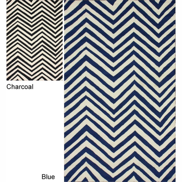 nuLOOM Handmade Chevron Indoor/ Outdoor Rug