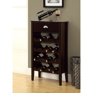Cappuccino 16-bottle Wine Rack