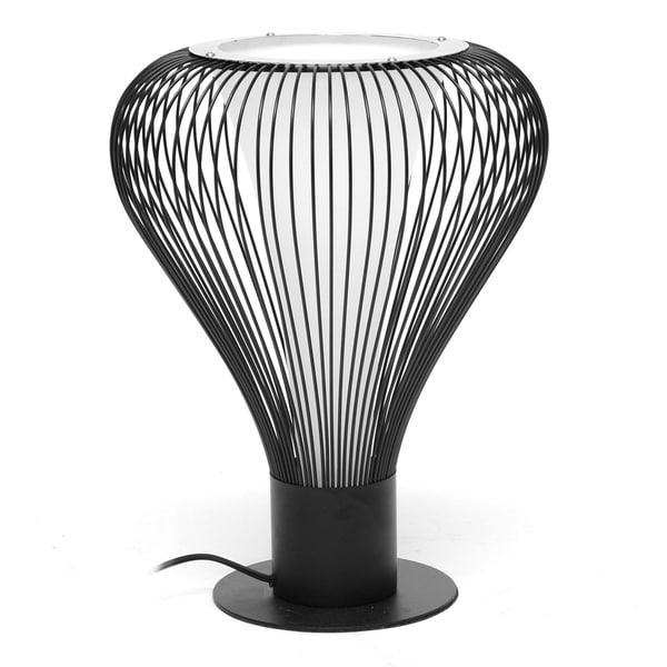 Orbim Black Modern Table Lamp