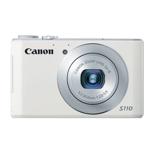 Canon PowerShot S110 12.1MP White Digital Camera