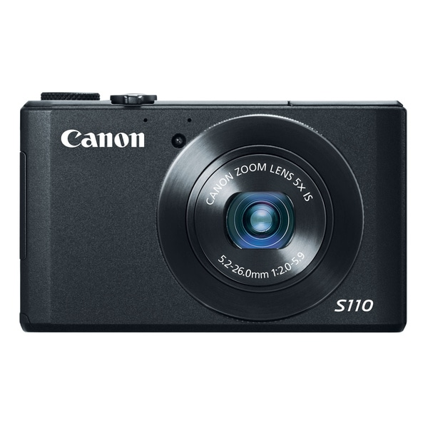 Canon PowerShot S110 12.1MP Black Digital Camera