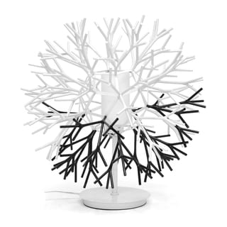 Twigg White and Black Modern Table Lamp