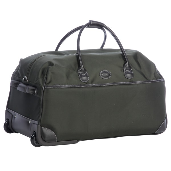 Shop Brics Pronto Olive 28-inch Rolling Upright Duffel Bag - Free ... d45b28924d7d8