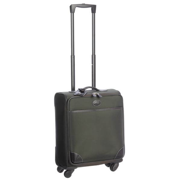 Brics Pronto Olive 20-inch Widebody Carry On Spinner Upright Suitcase